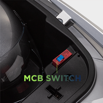 MCB switch e-scooty