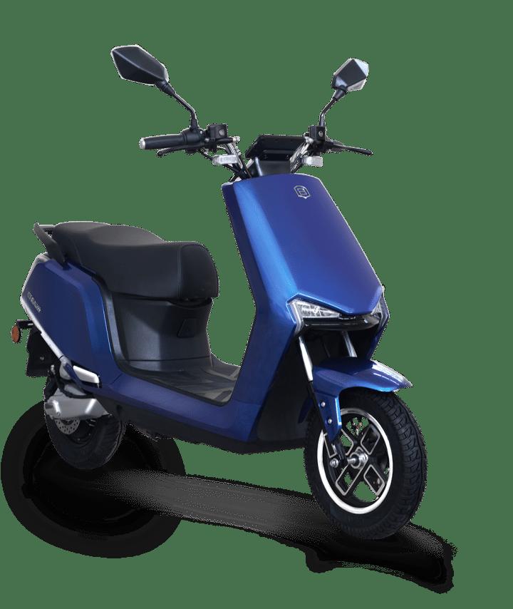 A2 blue E-Scooter