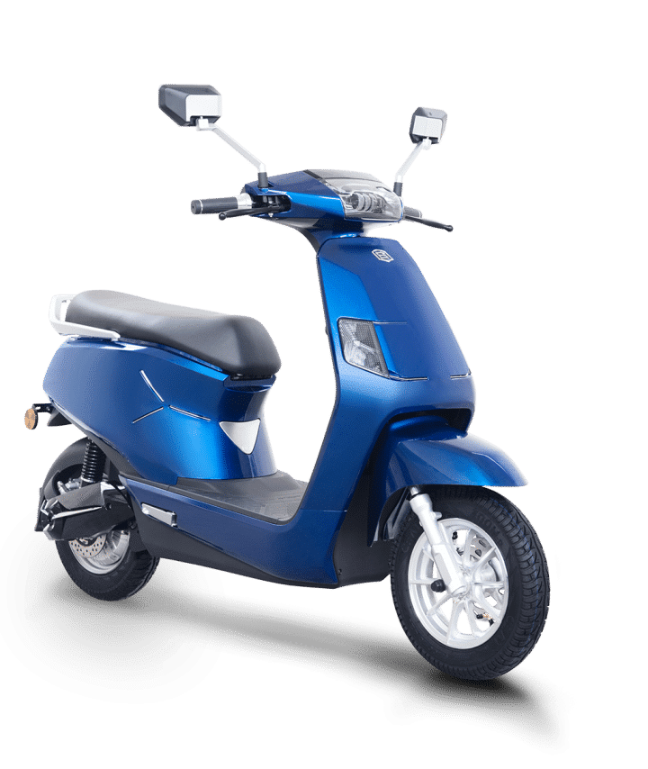 B8 Blue Electric scooter