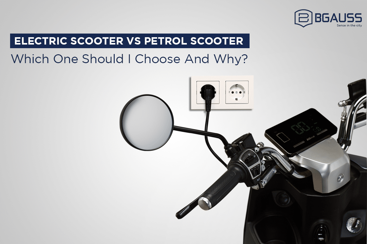 electric scooter vs petrol scooter