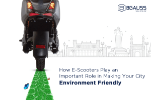 E Scooters Play an Important Role in Making Your City Environment Friendly