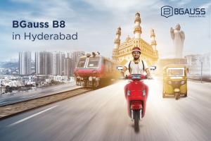 BGauss B8 Electric Scooter