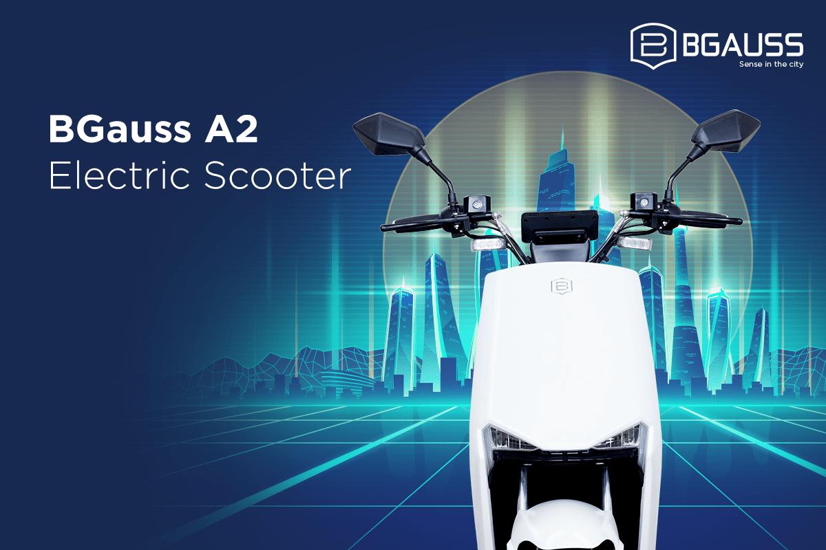 BGauss A2 Electric Scooter