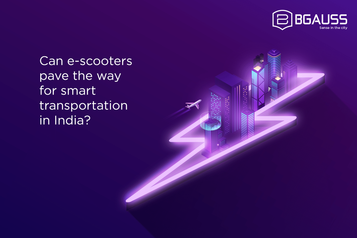 Can e-scooters pave the way for smart transportation in India
