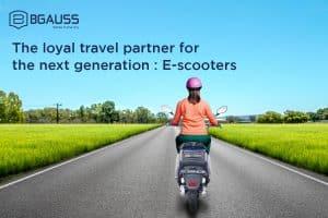 loyal travel partner: E Scooter